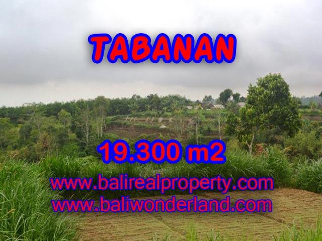 TANAH DI TABANAN BALI DIJUAL TJTB086 - PELUANG INVESTASI PROPERTY DI BALI
