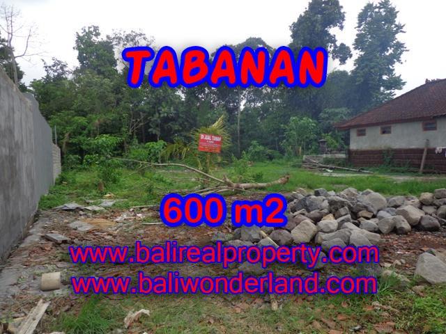 DIJUAL TANAH DI TABANAN BALI TJTB087 - PELUANG INVESTASI PROPERTY DI BALI