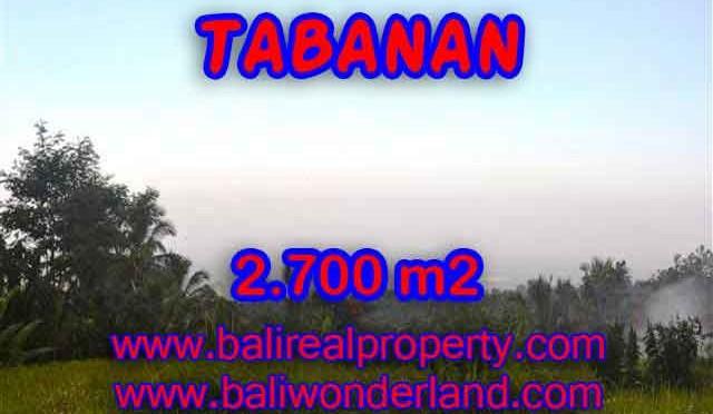 DIJUAL TANAH MURAH DI TABANAN BALI TJTB128 – INVESTASI PROPERTY DI BALI