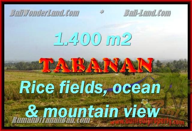 Peluang Investasi Properti di Bali - Jual Tanah murah di TABANAN TJTB143