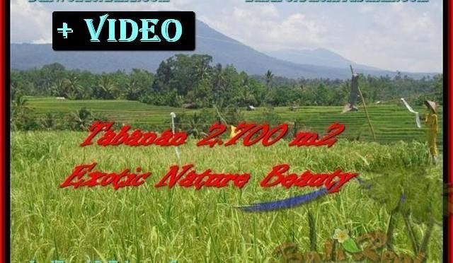 DIJUAL TANAH MURAH di TABANAN 2.700 m2 di Tabanan Penebel