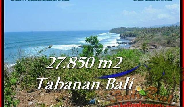 TANAH di TABANAN DIJUAL 27,850 m2 di Tabanan Selemadeg