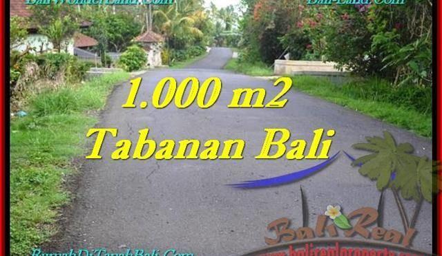 INVESTASI PROPERTI, TANAH di TABANAN DIJUAL TJTB243