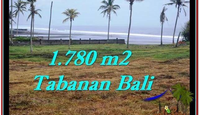 TANAH JUAL MURAH  TABANAN 17.8 Are View sawah, laut dan gunung