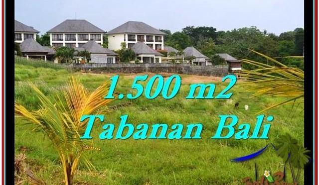 TANAH MURAH di TABANAN BALI Untuk INVESTASI TJTB252