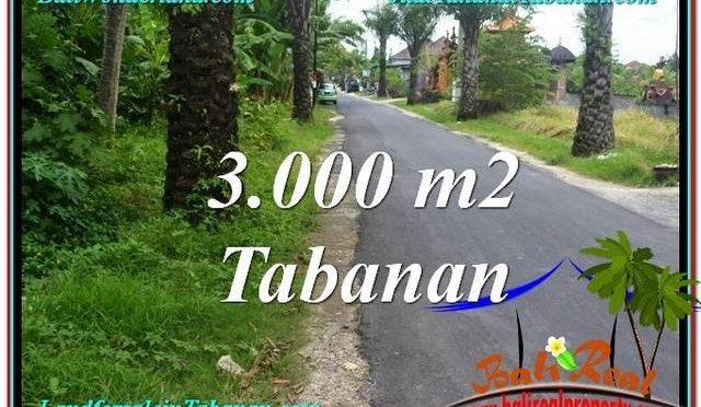 INVESTASI PROPERTI, DIJUAL TANAH di TABANAN BALI TJTB297