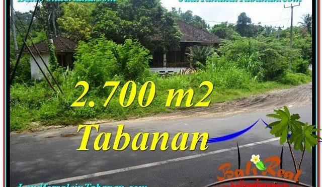 TANAH di TABANAN DIJUAL Untuk INVESTASI TJTB299