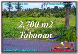 TANAH DIJUAL MURAH di TABANAN BALI TJTB301