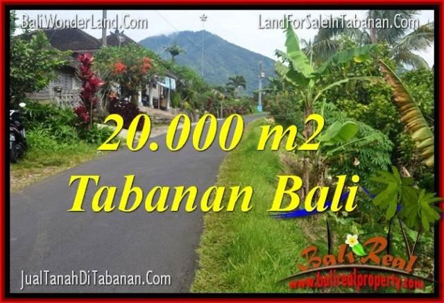 INVESTASI PROPERTI, TANAH DIJUAL di TABANAN BALI TJTB315