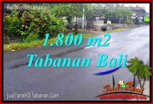 TANAH DIJUAL MURAH di TABANAN Untuk INVESTASI TJTB321
