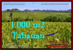 DIJUAL TANAH di TABANAN Untuk INVESTASI TJTB266