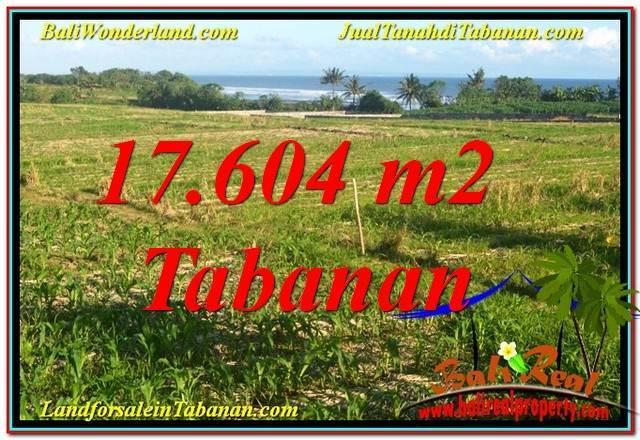 DIJUAL MURAH TANAH di TABANAN 176.04 Are di Tabanan Kerambitan