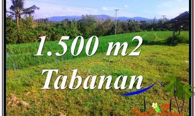 TANAH MURAH di TABANAN BALI DIJUAL TJTB353
