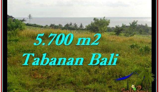 TANAH di TABANAN BALI DIJUAL MURAH 5,700 m2 di Tabanan Selemadeg
